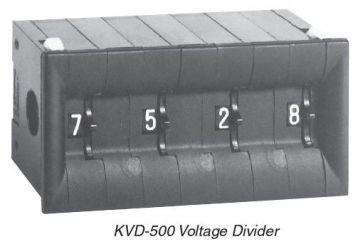 Divisore di tensione KVD-500 Kelvin-Varley